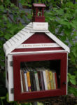 The first Little Free Library built by Todd Bol