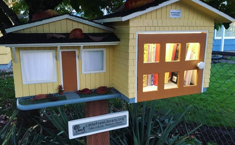 Foster-Powell Little Free Library